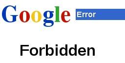 google-forbidden