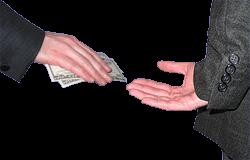 منبع: http://commons.wikimedia.org/wiki/File:Bribe.png